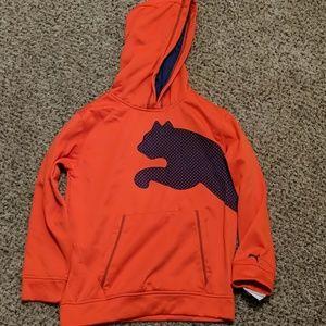 Puma boys big cat pullover hoodie